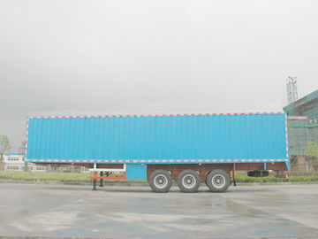 Chine High-strength Steel Van Semi Trailer fournisseur
